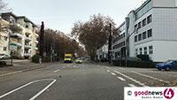 Zubringer-Ausfahrt Rheinstraße gesperrt – Ampel für Verkehrs- und Parkleitsystem kommt