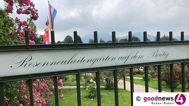 """Oscar der Rosen in Baden-Baden verliehen – Royale Estelle wird """"Goldene Rose von Baden-Baden"""""""