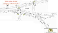 Regierungspräsidium veröffentlicht Umleitungspläne zur Lärmsanierung des Zubringers in Baden-Baden