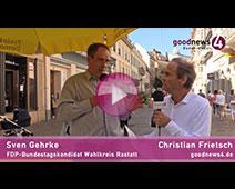 goodnews4-Gespräch zur Bundestagswahl 2021| Sven Gehrke und Christian Frietsch