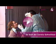 So läuft der Corona-Schnelltest | goodnews4-VIDEO-Reportage