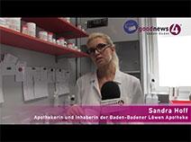 Maskenpflicht ab Montag   Apothekerin Sandra Hoff