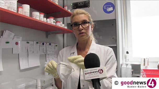 """Maskenpflicht ab Montag – Baden-Badener Apothekerin erklärt die Anwendung und Unterschiede – """"Maske absetzen, um zu regenerieren"""""""
