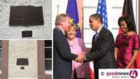 Barack Obama und die Fahrradabstellanlage im Baden-Badener Rathaus – SPD-Stadtrat Werner Schmoll