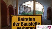"""Grüne Stadträtin Beate Böhlen zur 15-Millionen-Offerte - """"Schnapsidee"""" - FBB-Stadtrat Martin Ernst fordert Kontroll-Begehung des Neuen Schlosses - """"Desaströse Verrottung des Schlossparks"""""""