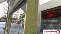 Baden-Baden steht vor Allzeit-Hitzerekord – 37,8 Grad vom 7. August 2015 sollen fallen – Meteorologin Sarah Müller rechnet mit bis zu 39 Grad