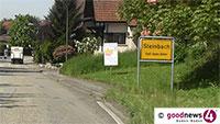 Noch eine Baustelle – Baggerbiss in der Yburgstraße in Steinbach steht bevor
