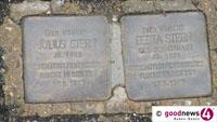 """26 neue """"Stolpersteine"""" werden verlegt"""