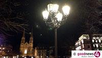 """In Baden-Baden wird's freiwillig dunkel - """"Earth Hour"""" am Samstag nächster Woche"""