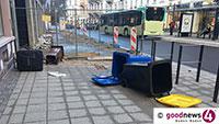 """Sturmtief """"Sabine"""" stoppte die Müllabfuhr – In der Innenstadt erst heute im Dienst"""