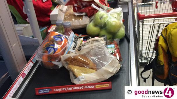 Gauner im Sinzheimer Supermarkt – Alte Dame um 2.500 Euro erleichtert