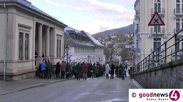 """Baden-Badener Juden erhielten Absage aus dem Rathaus - Kein Grundstück für neue Synagoge - OB-Sprecher: """"Die Stadt konnte der Gemeinde nichts anbieten"""" - Beispiel Regensburg: Stadt beteiligt sich mit zwei Millionen Euro"""