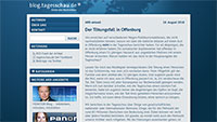 """Kontroverse um Tagesschau wegen Tötungsfall Offenburg - """"Können nicht über jeden Mordfall berichten"""""""