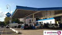 Benzinpreis in Baden-Baden um einen Cent je Liter erhöht - Preis für Dieselkraftstoff um zwei Cent gestiegen