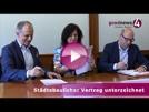 OB Mergen und Investor Epple zum größten Wohnbauprojekt der Baden-Badener Geschichte