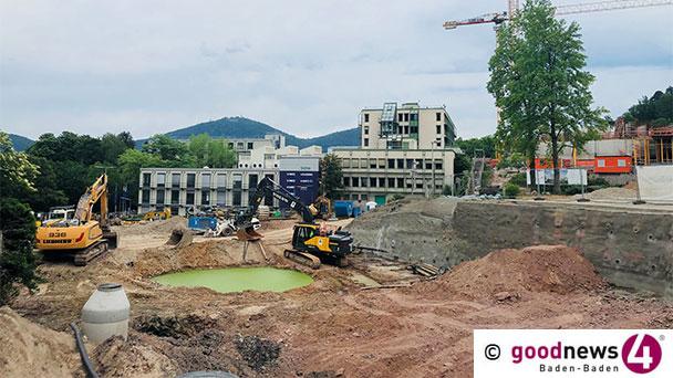 """Komplikationen auf altem Baden-Badener SWR-Gelände – Epple-Unternehmenssprecher Rabl: """"Der Felsen muss auf jeden Fall weg"""" – Warten auf ein Gutachten"""