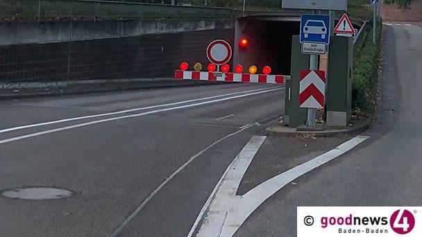 Hauptreinigung im Michaelstunnel – Von Montag bis Samstag gesperrt