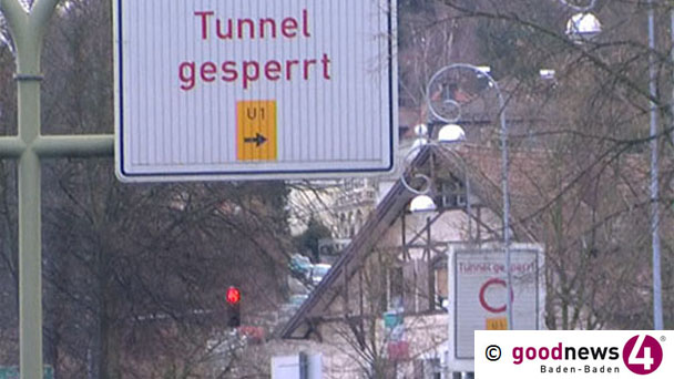 Michaelstunnel Donnerstag auf Freitag gesperrt