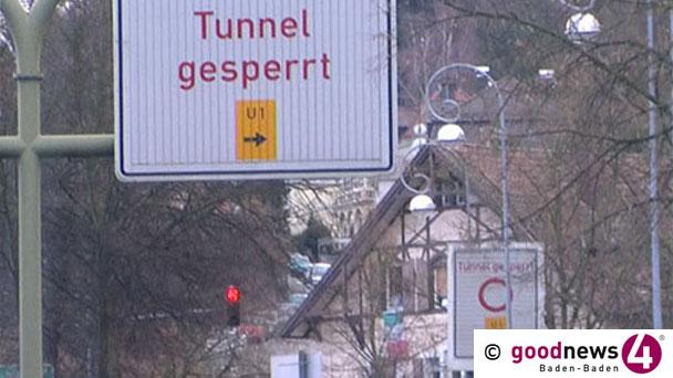 Michaelstunnel Freitag nächste Woche voll gesperrt