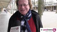 """goodnews4-Umfrage zeigt Baden-Badener gut im Bilde über OB-Kandidaten - """"Ein Herr Richter, ein Herr Pilarski, und dann kenne ich auch noch einen Herrn Geggus"""" - """"Es herrscht ein Oberbürgermeister-Tourismus"""""""