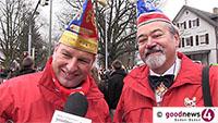 """Ooser Umzug gestern ohne politische Motive - OCV-Präsident Hartmann: """"Wir respektieren jeden Motiv-Wagen, auch Charlie Hebdo"""" - Umfrage: Baden-Badener zwischen """"Nein, bitte nicht"""" und """"Ja klar"""""""