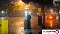 Unwetterwarnung für Baden-Baden morgen ab 18 Uhr – Nun kommt er, der Regen