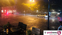 Unwetterwolken am Baden-Badener Bratwursthimmel – Auch Kiss-Konzert in Iffezheim wegen Unwetter abgebrochen