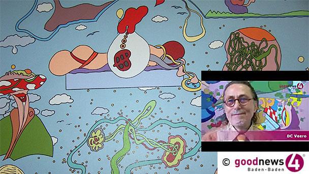 Baden-Badener Künstler DC Veero ist tot - Mit Galerie Cornels Kunstgeschichte geschrieben