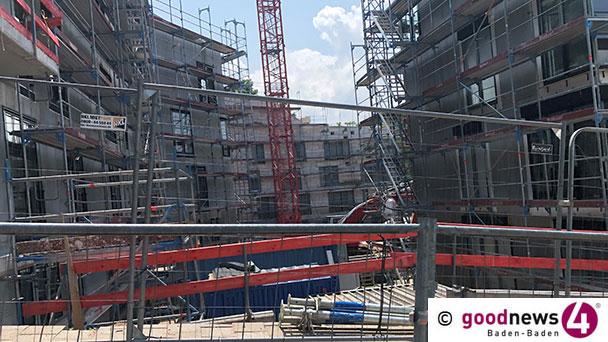 """Vincentius-Baustelle dauert – """"Wie ein Juwel"""" – """"Jardin du Soleil im Inneren der Stadt"""""""