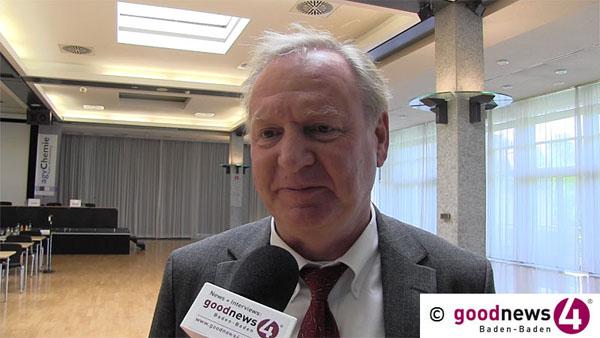 Letzter Arbeitstag von Oberbürgermeister Wolfgang Gerstner voraussichtlich am 9. Juni 2014 - OB-Wahl am 16. März - Gemeinsamer Termin für Baden-Badener Gemeinderatswahl und Europawahl