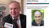 """Seltsame Verwandlung des Wolfgang Gerstner - Die falschen Bilder der Badischen Zeitung - """"Das Flair, ein Stadtbild mit Jugendstilvillen und Parklandschaften"""""""