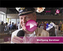 Narren stürmen Baden-Badener Rathaus   Wolfgang Gerstner