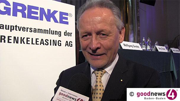 """40 % mehr Gewinn für Grenke-Konzern - """"Am oberen Ende unserer Erwartungen für das Gesamtjahr"""""""