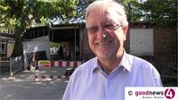 """Nur noch eine Woche Verkehrschaos in Baden-Baden - Zubringer schon Ende nächster Woche wieder frei - Bürgermeister Werner Hirth: """"Wir investieren derzeit 17 Millionen in unsere städtischen Objekte und davon 12 Millionen in unsere Schulen"""""""