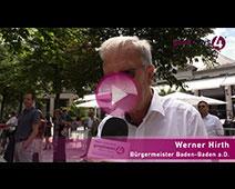 Baden-Baden Welterbe – Der erste Glücksmoment | Werner Hirth
