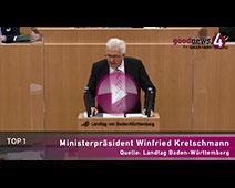 Regierungsinformation durch Ministerpräsident Winfried Kretschmann, 15. Oktober 2020
