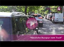 Busspur vom Tisch | Werner Schmoll