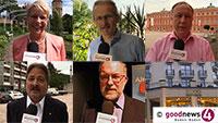 """Heute 18.30 Uhr Livestream - """"Zustand der Demokratie in Baden-Baden und im Landkreis Rastatt"""" - Bundestagskandidaten von SPD, Grüne, Die Linke, FDP, AfD diskutieren - Absage der CDU"""