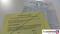 Neuer Rekord bei Briefwahlanträgen in Baden-Baden – 38 Prozent der Wahlberechtigten – Zusätzliche Bedeutung durch Bürgerentscheid Fieser-Brücke