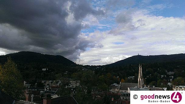 """Deutscher Wetterdienst warnt vor Gefahr eines Unwetters auch in Baden-Baden - Uwe Schickedanz: """"Die Ruhe ist trügerisch"""" - """"Auf Mehliskopf und Hornisgrinde geht's richtig zur Sache"""""""