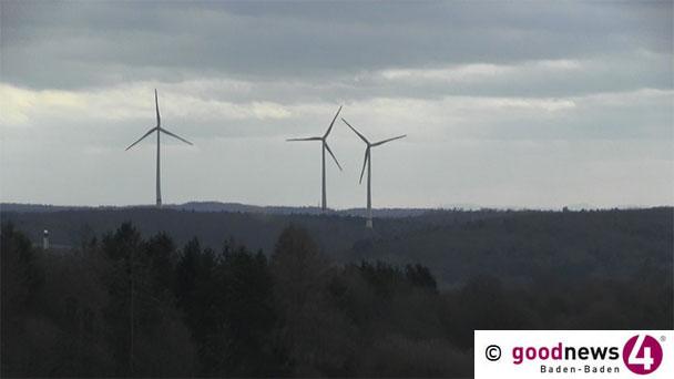 """""""Windkraftplanung"""" für Baden-Baden am Donnerstag vor Gericht – Normenkontrollanträge mehrerer Städte und Gemeinden"""