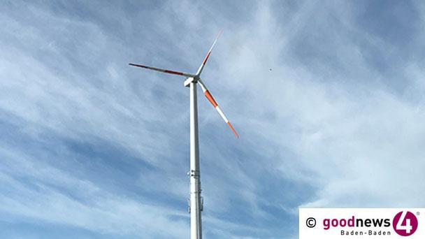 """Baden-Badener CDU-Fraktion """"Windkraft-Urteil rechtskräftig"""" – """"Regionalverband muss neu planen"""""""