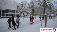"""Teils """"unwetterartige Schneefälle"""" - Kritische Lage auf 400 bis 500 Metern"""