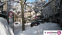 Rathaus mahnt: Gehwege von Eis und Schnee befreien