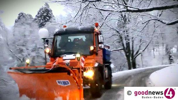 Doch noch kurzer Wintereinbruch – Schneeglatte Fahrbahn sorgt für Rückstau bis Selbach