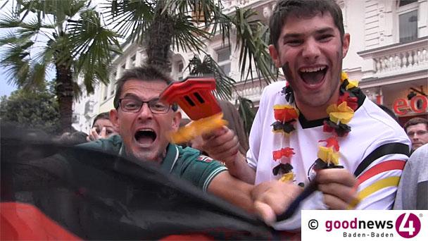Erinnerungen an das Sommermärchen und WM 2014 – Public Viewing im Jugendtreff Sandweier