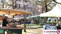 Wochenmärkte in Lichtental, der Weststadt und am Augustaplatz – Termine über Ostern