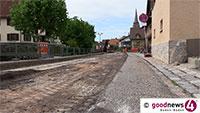Sanierung Yburgstraße – Petrus soll helfen