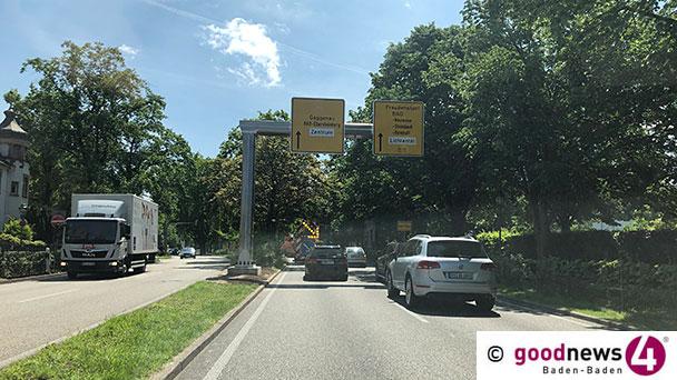 """Verkehrszeichenbrücken Adieu! – 6. Juli bis 8. Juli """"jeweils ein Fahrstreifen gesperrt"""""""